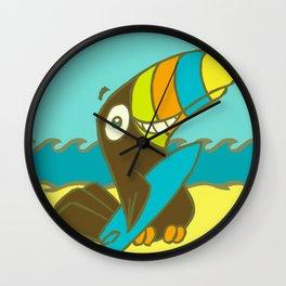 Surfin' Toucan! Wall Clock