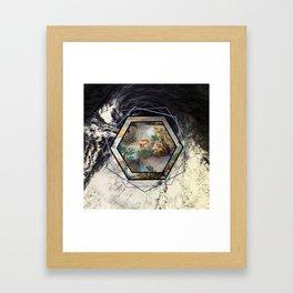 Hexagonal Renaissance Framed Art Print