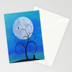 Blue Moon Cat Stationery Cards