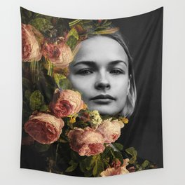 Flower flow Wall Tapestry