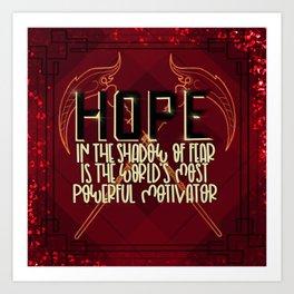 Hope (Scythe) Art Print