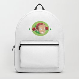 Mom Of Redhead Red Hair Freckles Redheads Gift Backpack