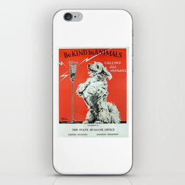 Be Kind To Animals 6 iPhone Skin