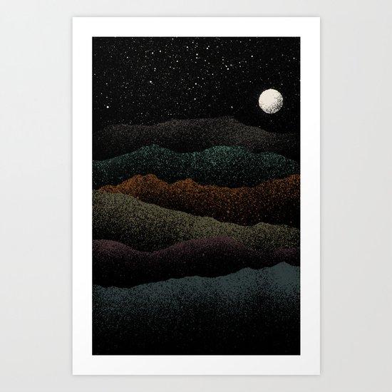 Mountains Beyond Mountains Art Print