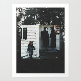 Brand New Band Edit Art Print