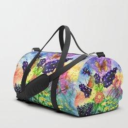Bluebonnet Bouquet Duffle Bag