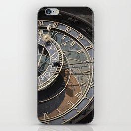 Astronomical clock Prague iPhone Skin