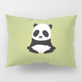 Mindful panda levitating Pillow Sham