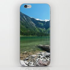 Avalanche lake iPhone & iPod Skin