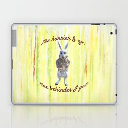 White Rabbit shares his wisdom Laptop & iPad Skin