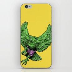 the incredible hawk iPhone & iPod Skin