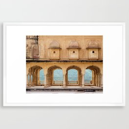 Arches of Perception Framed Art Print
