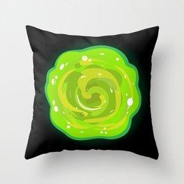 Rick's Portal Throw Pillow
