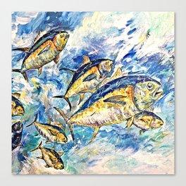 Golden Tuna Canvas Print