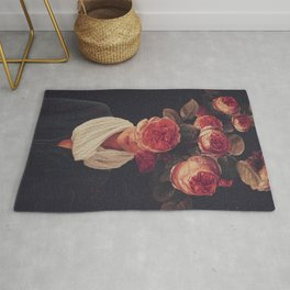 The smile of Roses Rug