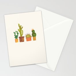 Hedgehog and Cactus (incognito) Stationery Cards