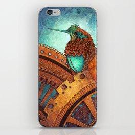Clockwork Hummingbird iPhone Skin