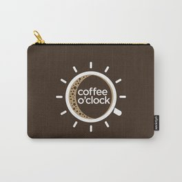 Coffee o'clock Carry-All Pouch