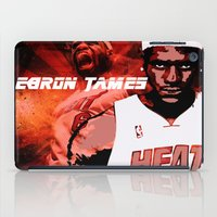 lebron iPad Cases featuring Lebron James: #4 Hall of Fame Series by Sifa Blackmon
