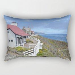 behind the lighthouse Rectangular Pillow