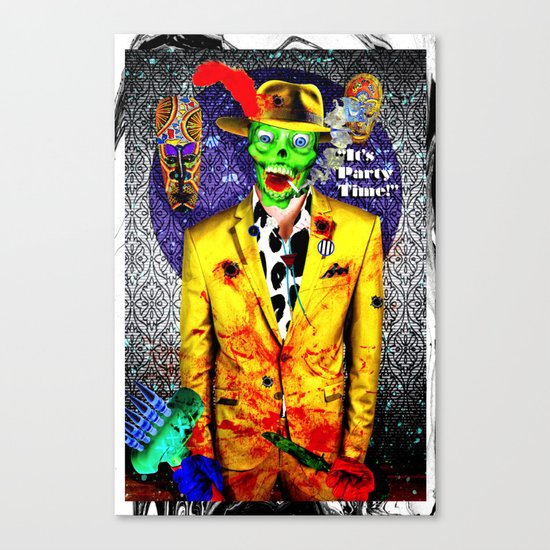 It's Party Time! Canvas Print