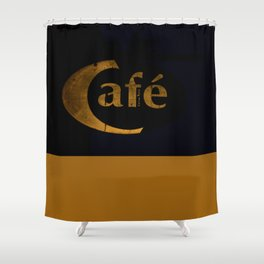 Stockholm 14 - Café gold (limited edition 30/30) Shower Curtain