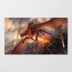 Red Dragon v2 Canvas Print