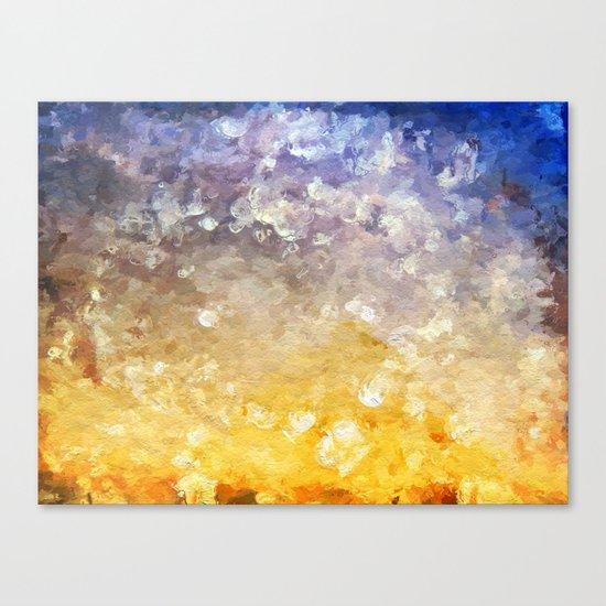 Plage de Saint-Clair - Coraux - France Canvas Print