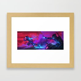 The Fastest Woman on Earth Framed Art Print