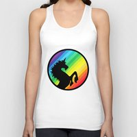 queer Tank Tops featuring Be Your Own Queer by Berberism