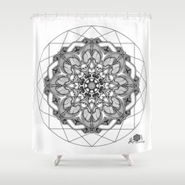 Anatomandala III Shower Curtain
