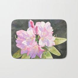 Pink Rhododendron Bath Mat