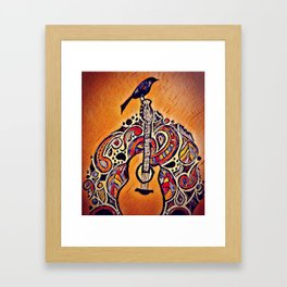 The Magic is in the Music Framed Art Print