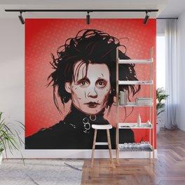 Edward Scissorhands - Pop Art Wall Mural