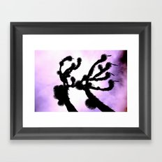 The Joshua Tree Framed Art Print
