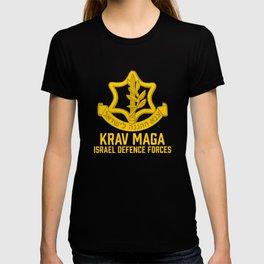Krav Maga Israel Defense Force - IDF Self Defense System T-shirt