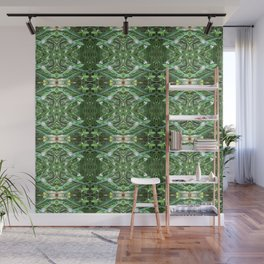 Herb Garden Chives Pattern Wall Mural