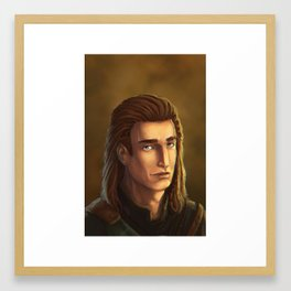 Seers Isle: Brandon Framed Art Print