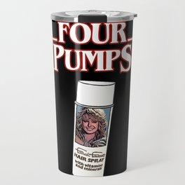 Four Pumps Travel Mug