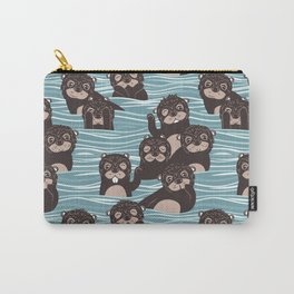 Otters dazzling the audience Carry-All Pouch