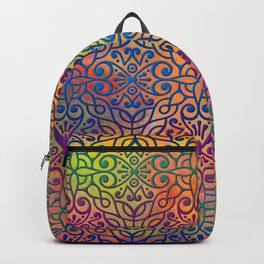 DP050-1 Colorful Moroccan pattern Backpack