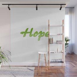 Inspirational Words...Hope Wall Mural
