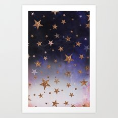 Star Clouds Art Print