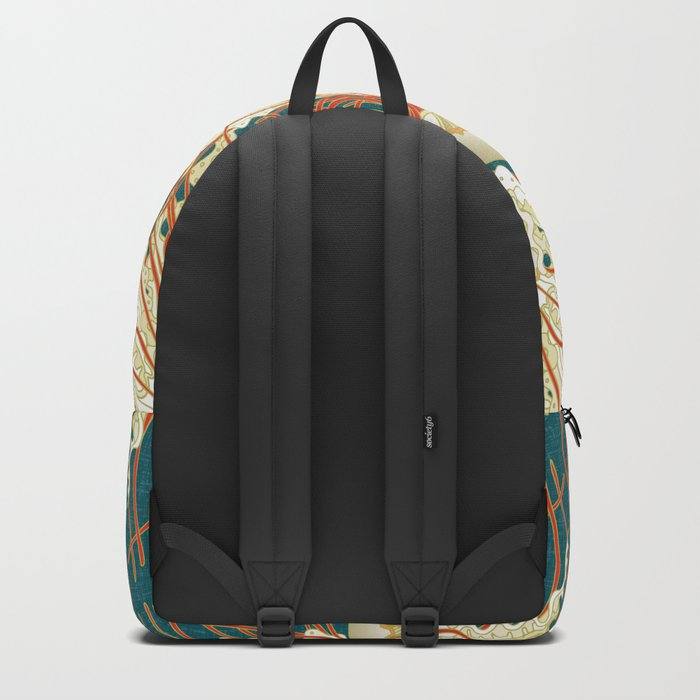 jellyfish blue Backpack
