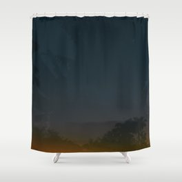 Parque del Este Shower Curtain