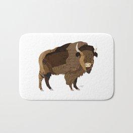 Buffalo Collage Bath Mat