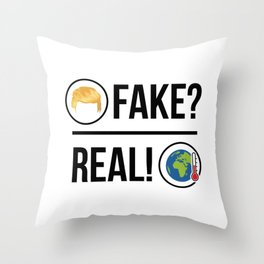 Global Warming is Real! Throw Pillow