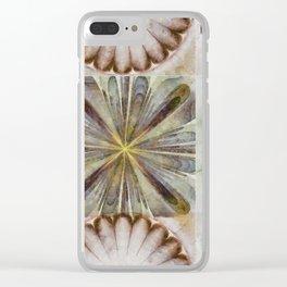 Dentalium Speculation Flower  ID:16165-144752-76360 Clear iPhone Case