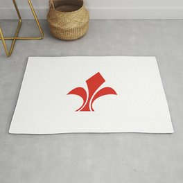 lille city flag france country symbol Rug