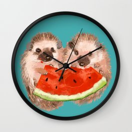 Love is Sharing Wall Clock